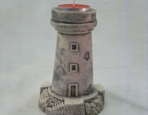 Svjetionik za lučicu / Lighthouse – candle holder