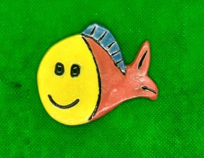 Magnet ribica / Little fish fridge magnet